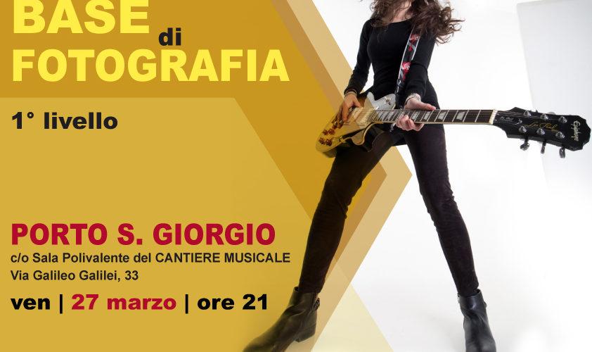 CORSO BASE  [apr-mag 2020]  PORTO S.GIORGIO (FM)
