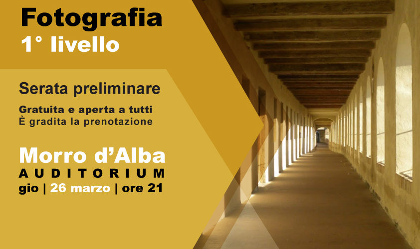 Corso BASE [apr-mag 2020] MORRO D'ALBA (AN)