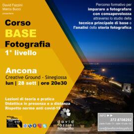 Corso BASE [set-nov 2020] ONLINE o in ANCONA (AN)